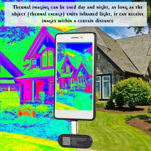 Thermal HT-102 Thermal Imager Multifunctional Mobile Phone External Infrared Thermal Camera for Android Phones With OTG Function Android