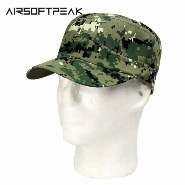 6b1e3869084 Camouflage Hunting Tactical Military Baseball Hat Outdoor Fishing Camping