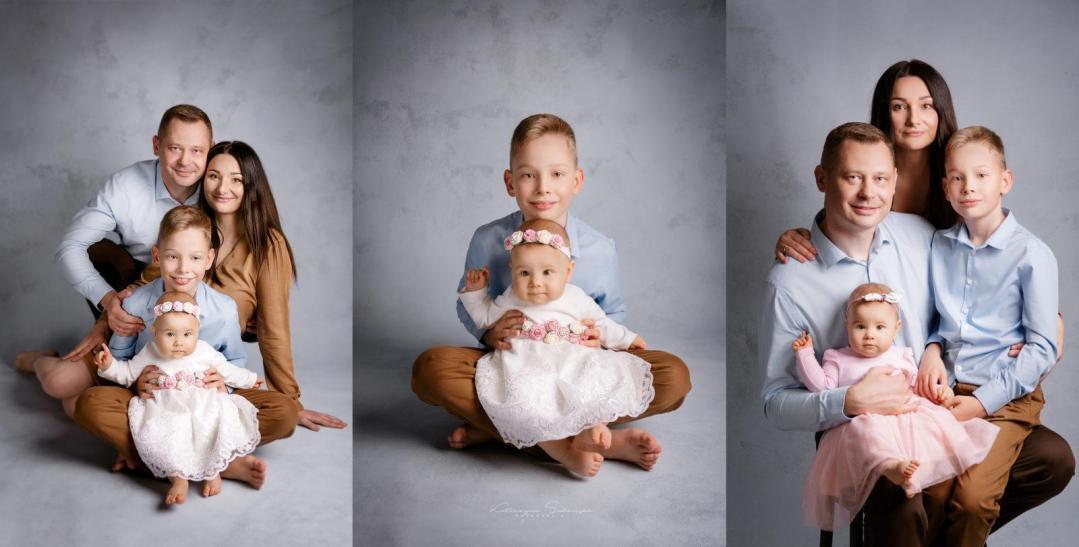 fotografia rodzinna kobyłka