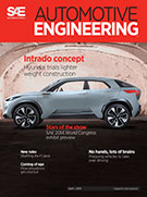 Automotive Engineering:  April 1, 2014