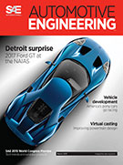 Automotive Engineering:  March 3, 2015