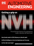 Automotive Engineering: June 2017