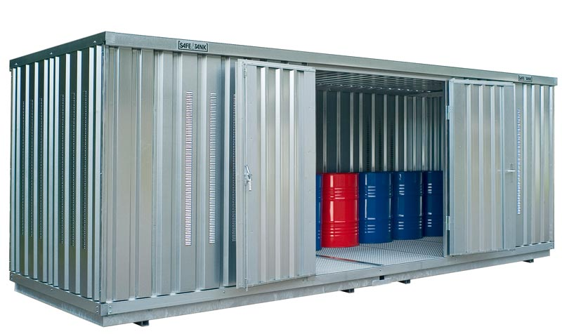 Hazmat Storage Container SAFE Tank ST 1900
