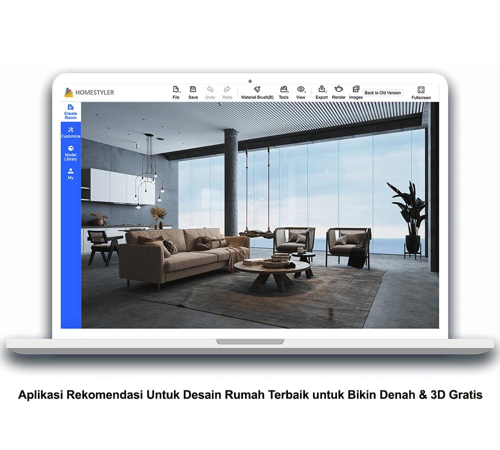 5 Aplikasi Rekomendasi Untuk Desain Rumah Terbaik untuk Bikin Denah & 3D Gratis SAELAND PROPERTY GSS I rumah subsidi 2021
