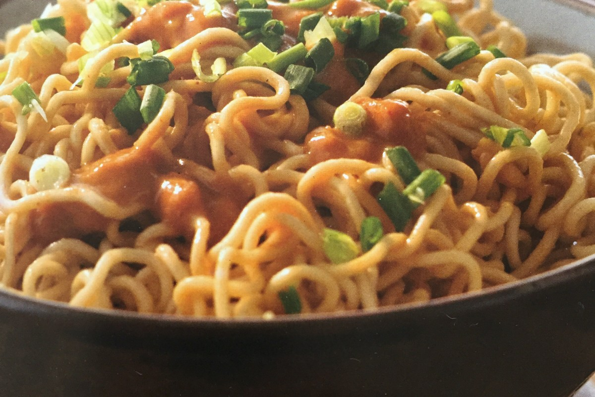 Recipe: Sesame Cold noodles