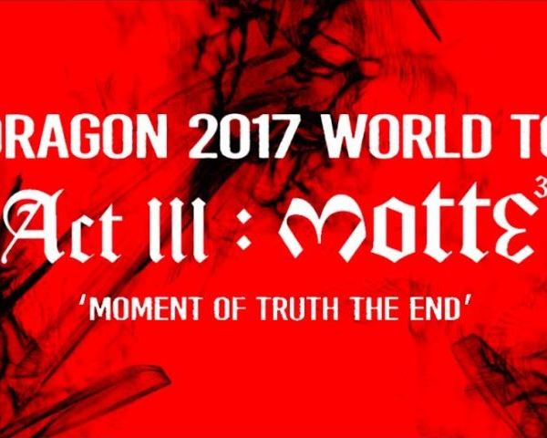 Concert Review: G-Dragon's World tour Act lll Motte Concert in Amsterdam