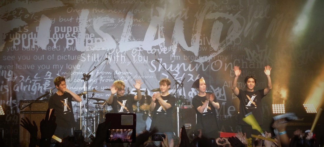 F.T.Island Live [X] Concert in Amsterdam