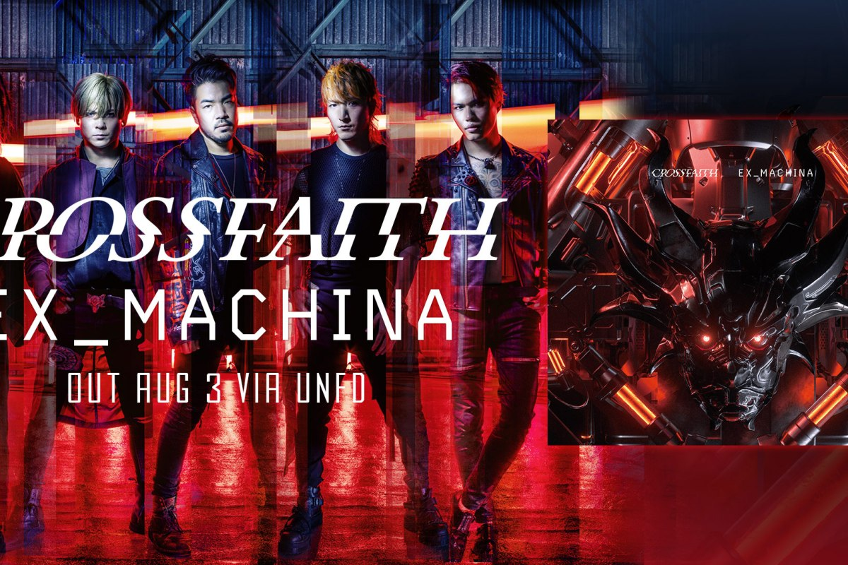 Album Review: Ex_Machina – CROSSFAITH