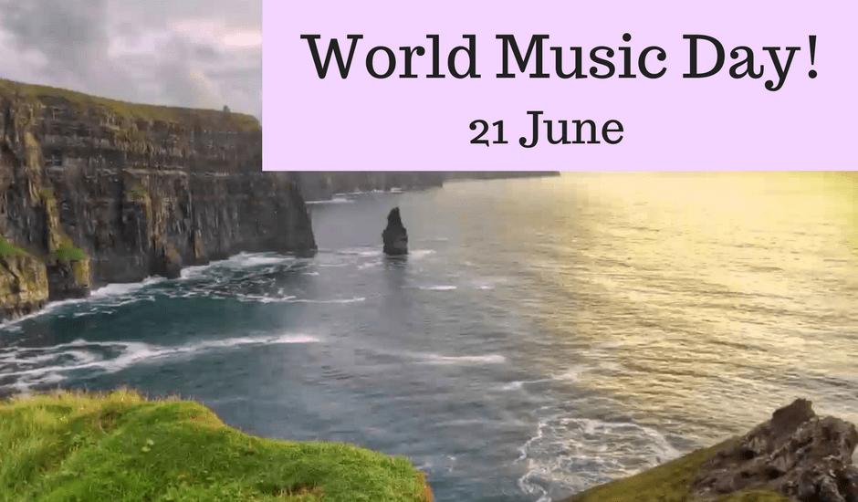 #worldmusicday