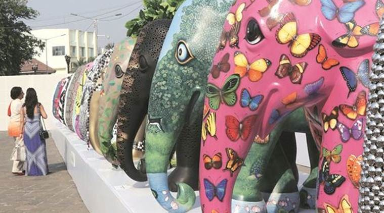 Elephant Parade arrives in Mumbai, to raise awareness on conservation