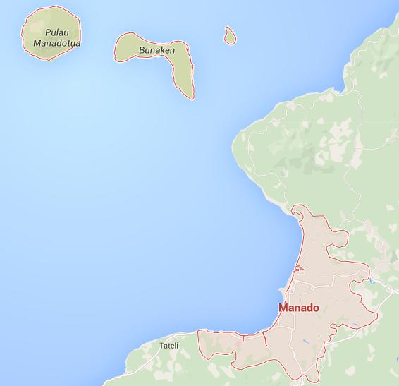 Manado – a distant paradise