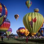 Hot-air balloon rides are best during the beautiful morning light at sunrise