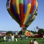 To make the most of the beautiful ride a hot-air balloon safari is best done during the beautiful morning light at sunrise