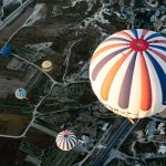 Hot air balloon flights are subject to weather