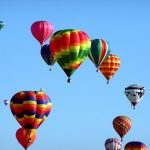 Anyone who is fit enough to hop in and out of the basket can go on a hot air balloon safari