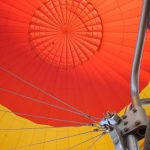 Hot air balloons were the first attempt made by human beings to fly