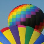 A hot-air balloon safari is best done when the weather is calmest at sunrise
