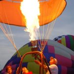 To make the most of the ride a hot-air balloon safari is best at sunrise when the weather is calmest