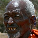 Piercing and stretching of earlobes is the most common practice of the Maasai