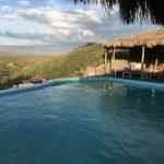 Maasai families live in enclosures called Enkang