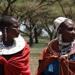 Maasai tribe live in enclosures called Enkang that are protected by fences or bushes