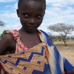 Maasai huts are very small