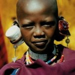 Maasai live in huts that are very small with only one or two rooms