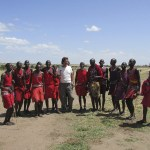 There are about 900.000 Maasais living in Kenya
