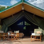 Tents were reserved for Kenya's colonial Governors a century ago