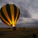 Altitude is gained or lost by manipulating the temperature of the air in the balloon envelope