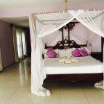On the second floor there is a large double bedroom