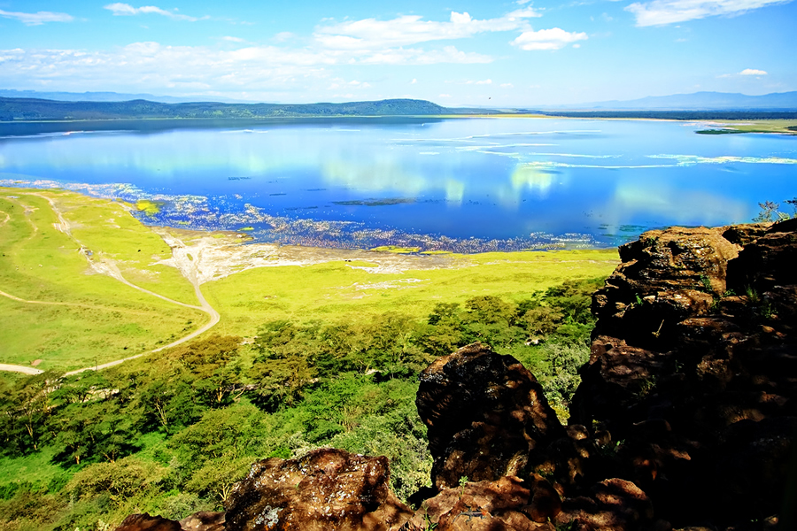 Lake in the Rift valley