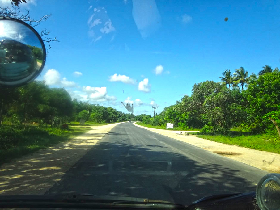 Road to Watamu