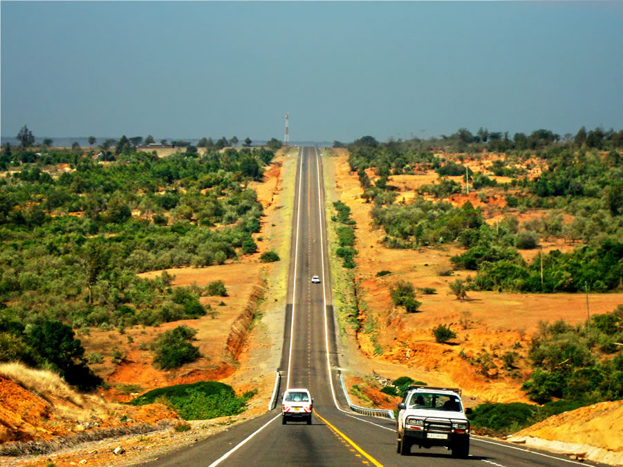 Road to the mara