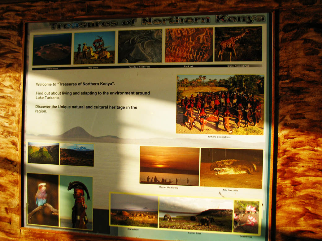 Loiyangalani Desert Museum_info board