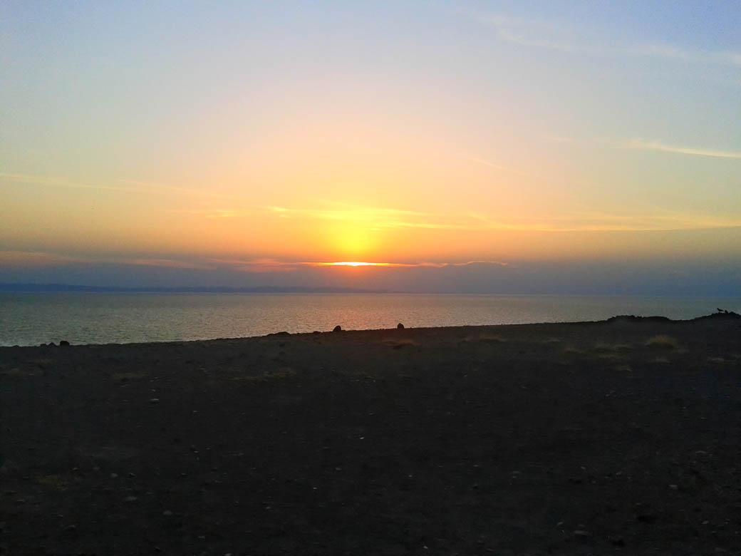 Loiyangalani Desert Museum_sunset2