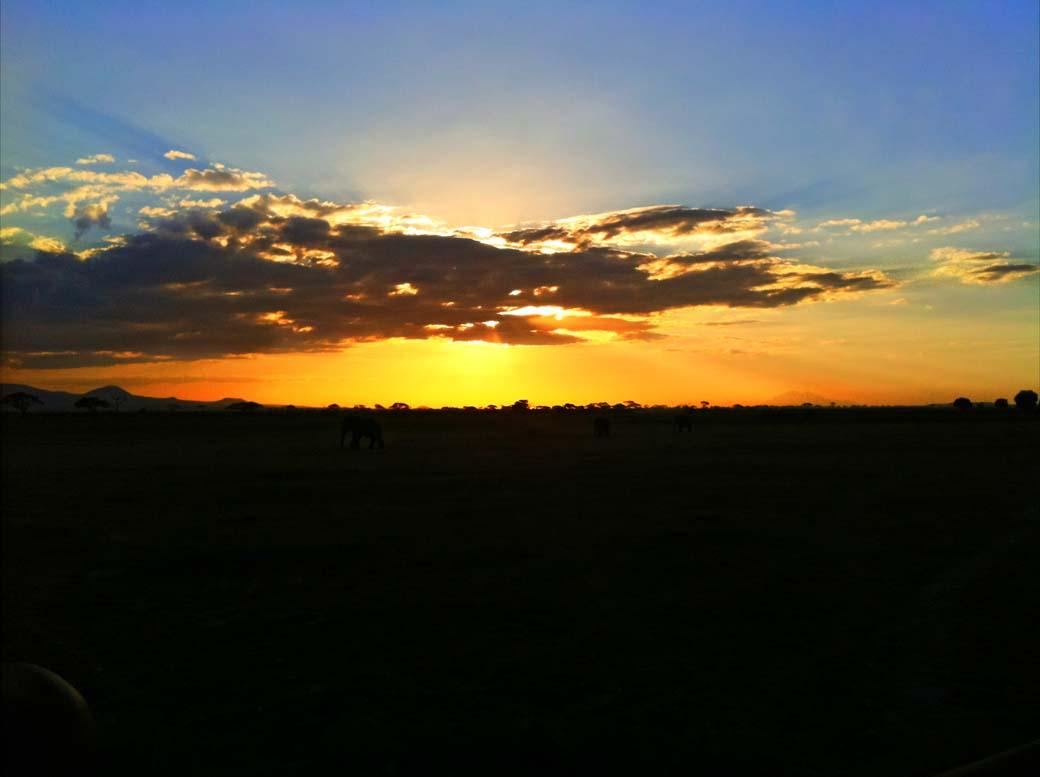 Amboseli National Park_Sunset2