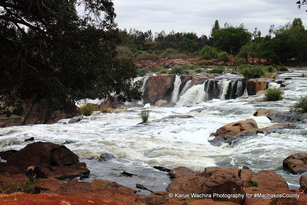 The Fourteen Falls are still a sight to behold from afar.