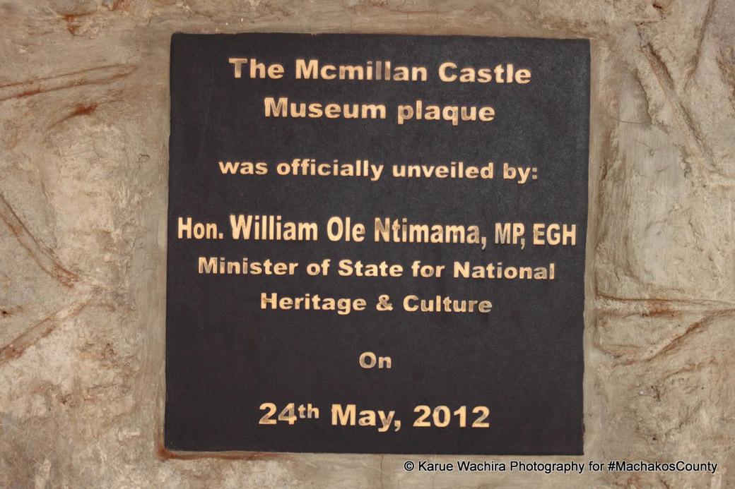MacMillan Castle_plaque