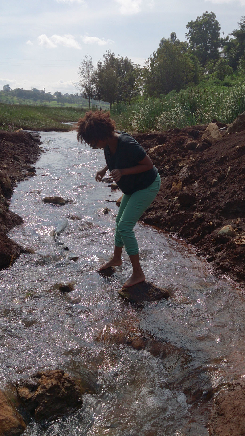 Ondiri Swamp mini river
