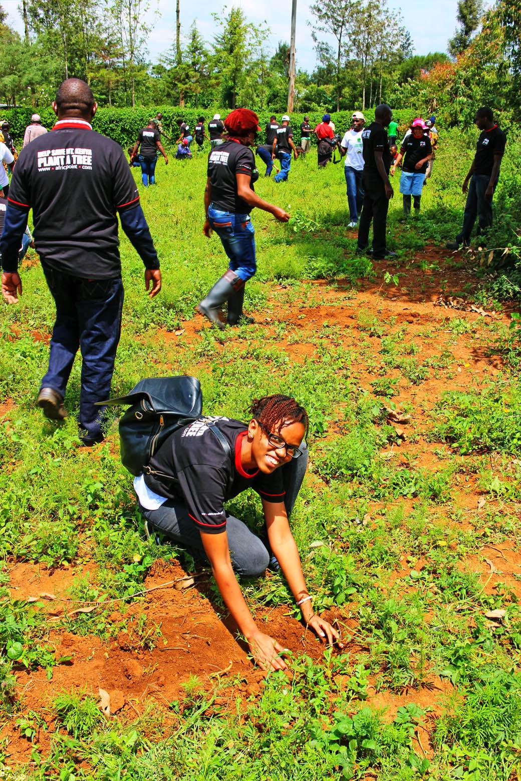 Save Mount Kenya _rachael