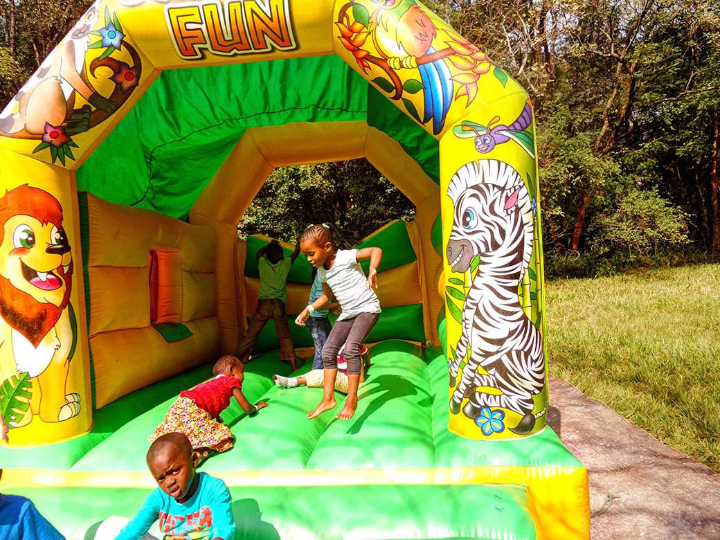 Koroga Festival_Bouncy castle