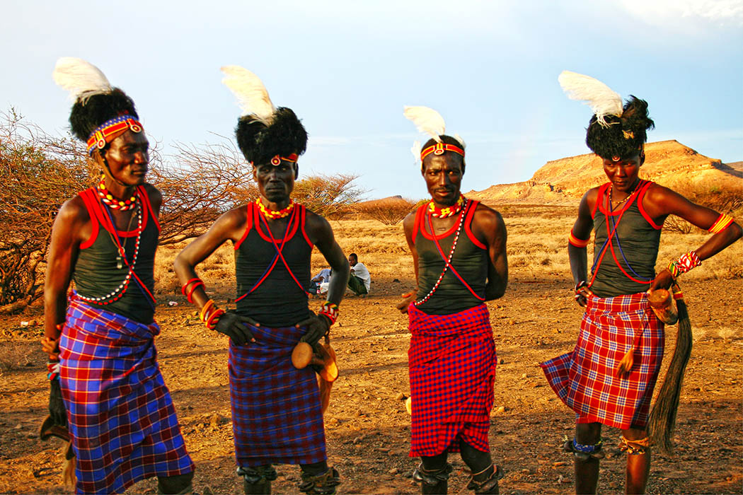 Nothern Kenya People and Places_Turkana Men