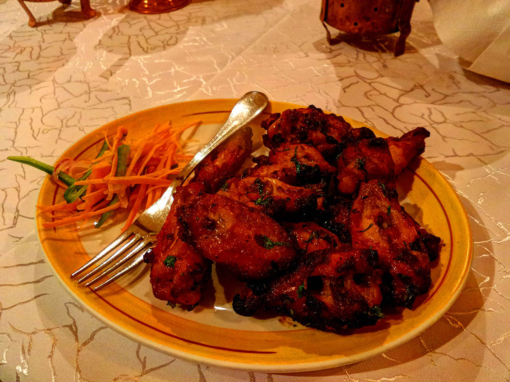 Bhandini review_ chicken wings