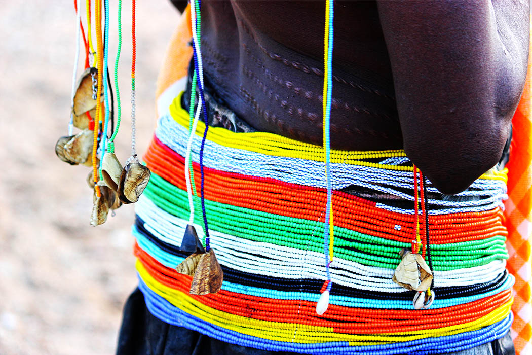 Unexpected Kenya_waist beads