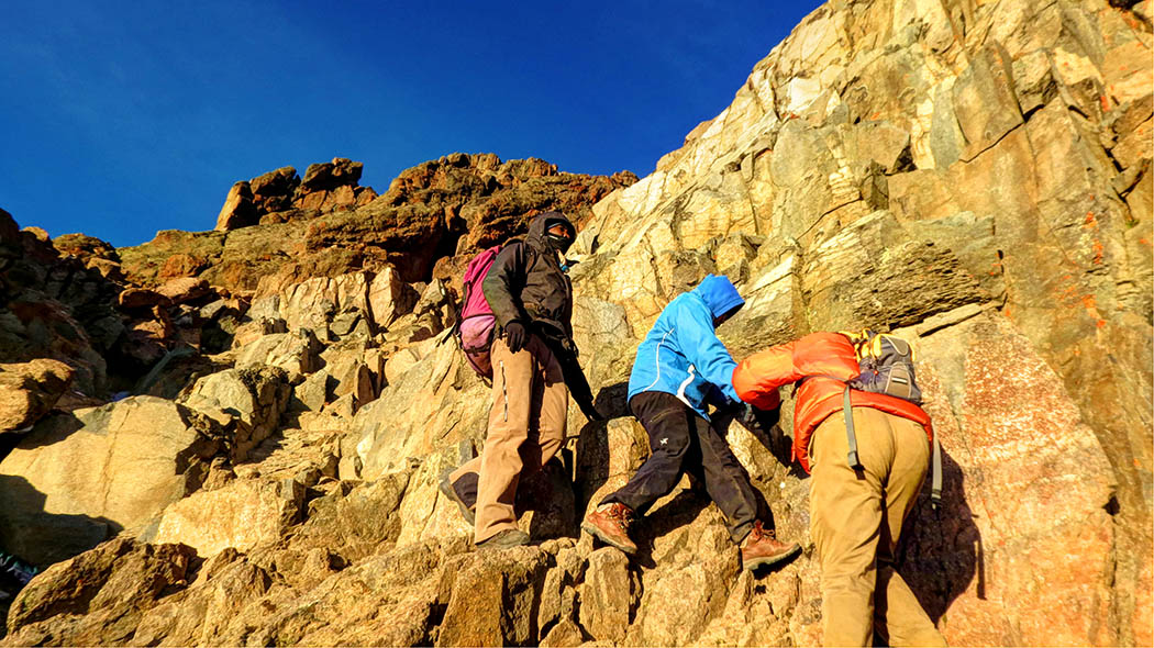 Mount Kenya_descent 4