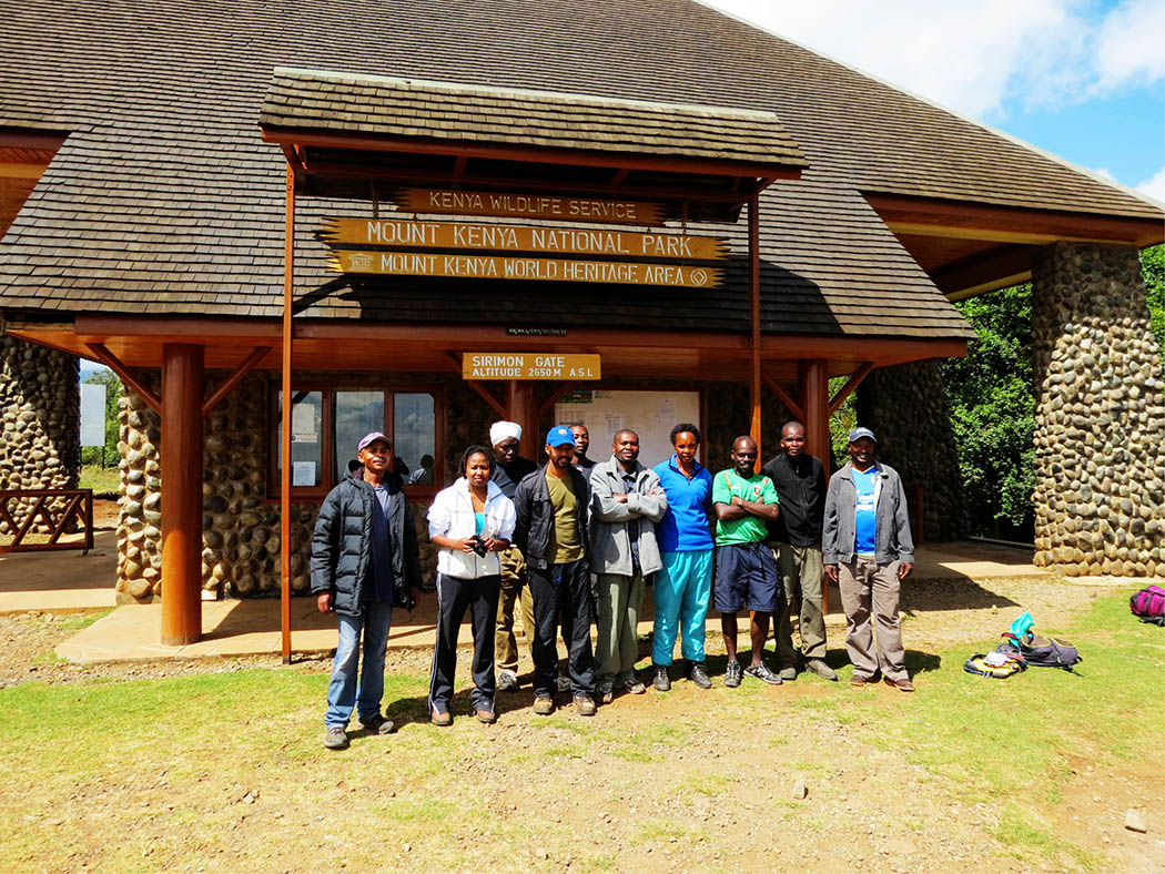 Mount Kenya_group photo