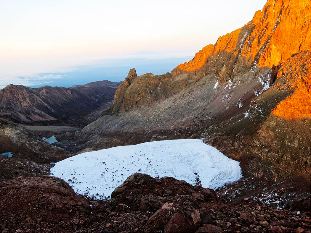 Mount Kenya_sunrise at peak 3