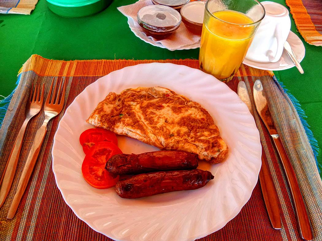 Unexpected Kenya_Breakfast in Kerio View