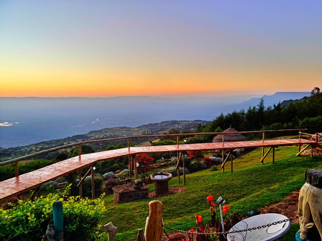 Unexpected Kenya_Sunrise in Kerio Valley